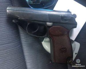 В Запорожской области в авто жителя соседнего региона нашли наркотики и оружие - ФОТО