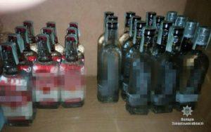 В Запорожье незаконно продавали алкоголь: полицейские изъяли более 1000 литров спиртного - ФОТО
