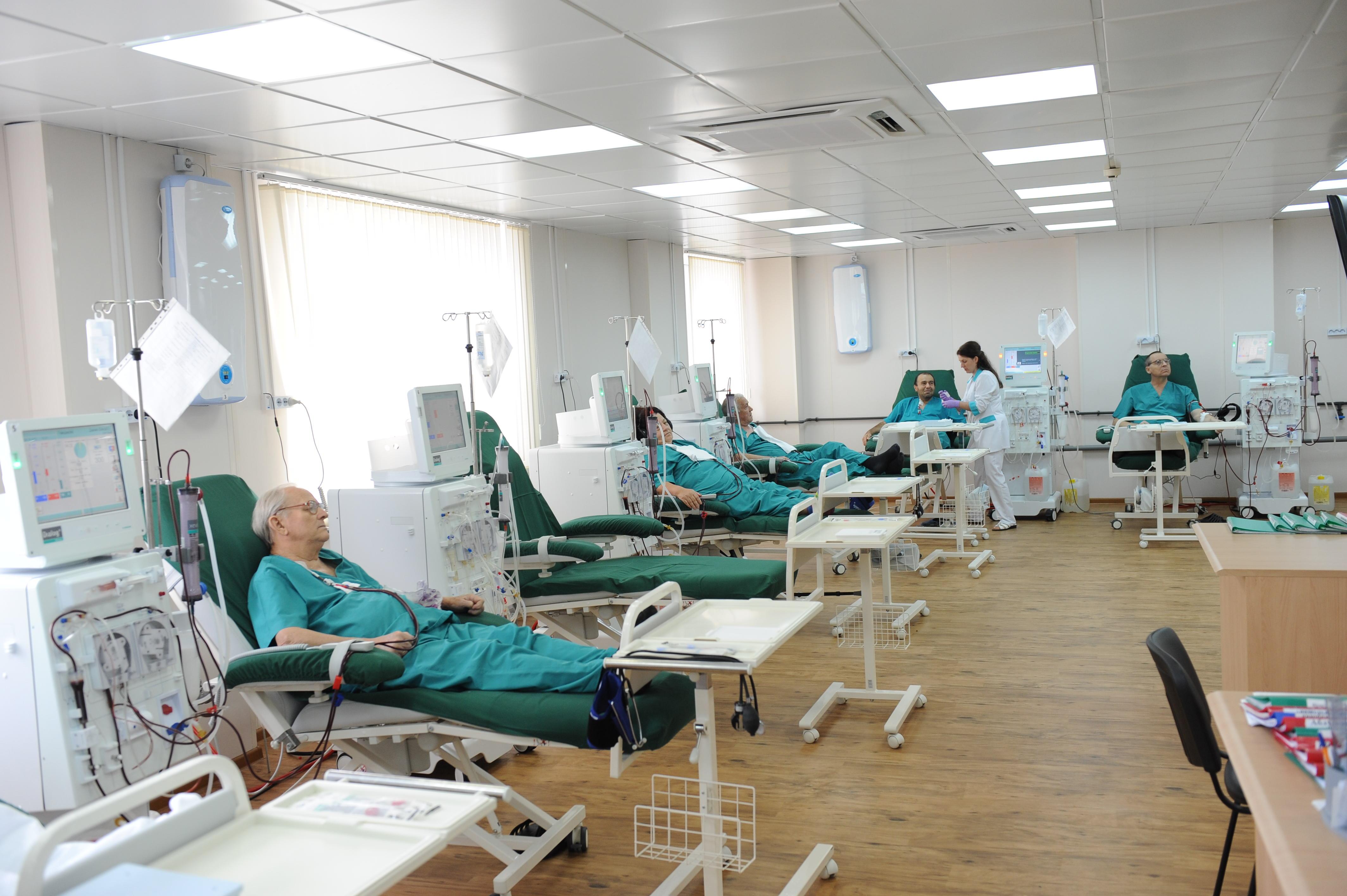 Четверо пациентов заразились гепатитом вовремя гемодиализа вЗапорожской области