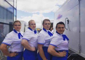 Запорожская спортсменка пробует себя в роли актрисы - ФОТО
