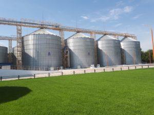 Новый запорожский перегрузочный терминал принял первые тонны зерна