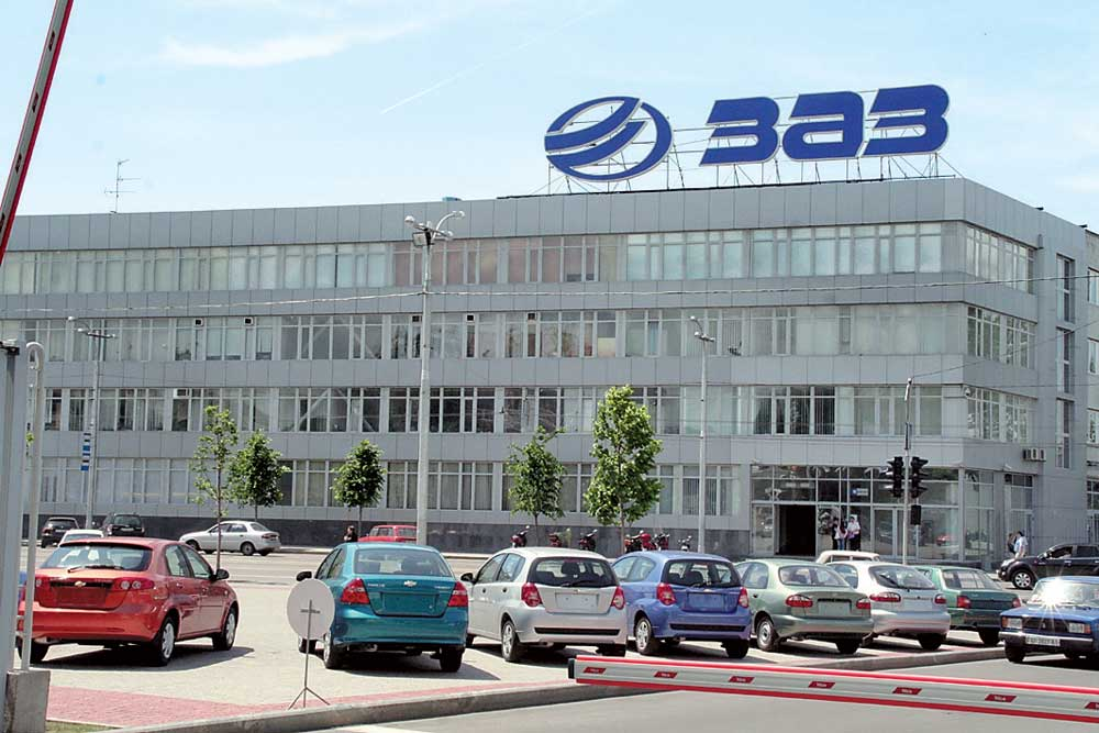 Цеха автозавода ЗАЗ продали вместе савтомобилями
