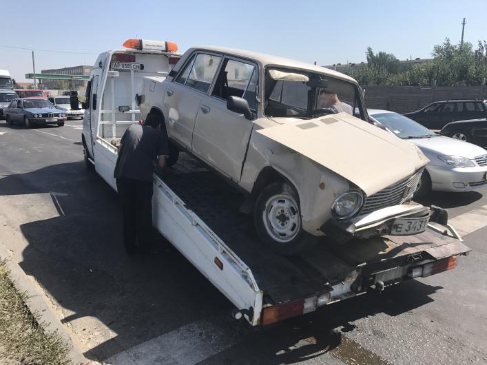 ВЗапорожской области столкнулись три автомобиля имотоцикл: есть пострадавшие