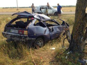 В Запорожской области семья с ребенком попала в жуткое ДТП: автомобиль разбился всмятку - ФОТО