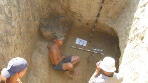Запорожские археологи обнаружили 14 скифских захоронений
