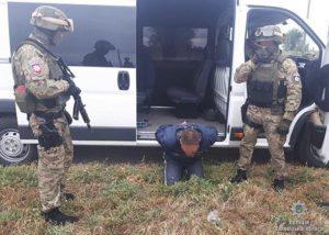 В запорожском селе задержали мужчину, убившего человека на глазах у ребенка - ФОТО