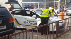 Виновник ДТП в нетрезвом состоянии попытался скрыться с места аварии – ВИДЕО
