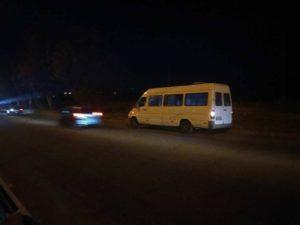 В Запорожье у маршрутки с пассажирами на ходу отвалилось колесо - ФОТО