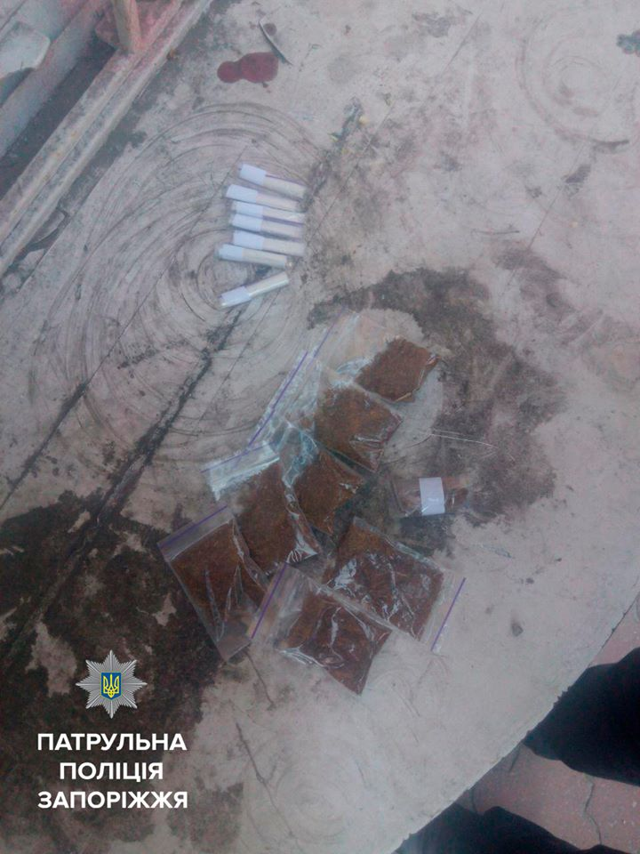 В Запорожье задержали наркоторговца - ФОТО