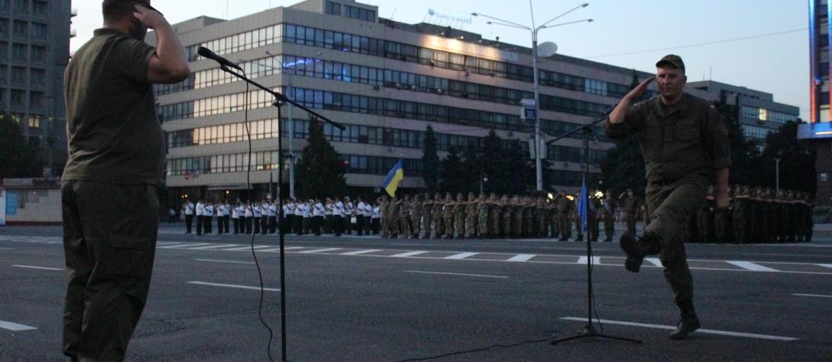 Запорожский военком уйдет с должности, чтобы учиться в Киеве