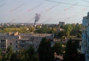 На запорожском курорте произошел масштабный пожар в гостинице - ВИДЕО