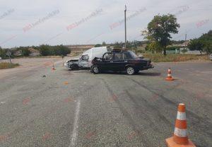 В Запорожской области столкнулись два автомобиля: водители госпитализированы – ФОТО, ВИДЕО
