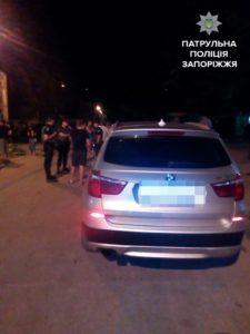 В Запорожье пьяный водитель, который попал в ДТП устроил драку с другими участниками аварии – ФОТО