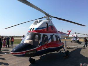 В Запорожье торжественно презентовали первый украинский вертолет - ФОТО