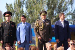 Константин Брыль снова вышел на парад в генеральской форме – ФОТО