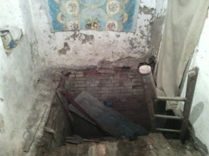 В Запорожской области из подвала спасли пенсионерку - ФОТО