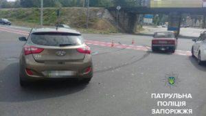 В центре Запорожья произошло очередное ДТП: есть пострадавшие - ФОТО