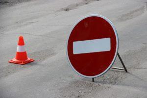 На запорожской трассе временно ограничили движение