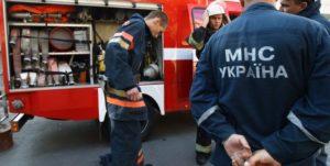 В Запорожье произошел пожар в Шевченковском районе