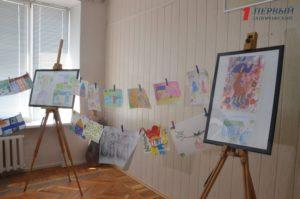 В Запорожье презентовали международную выставку детских рисунков – ФОТО