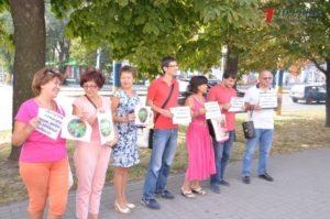 В Запорожье на экологический митинг против амброзии пришло семь человек - ФОТО