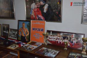 В Запорожье открылась выставка экспонатов музея борьбы - ФОТО
