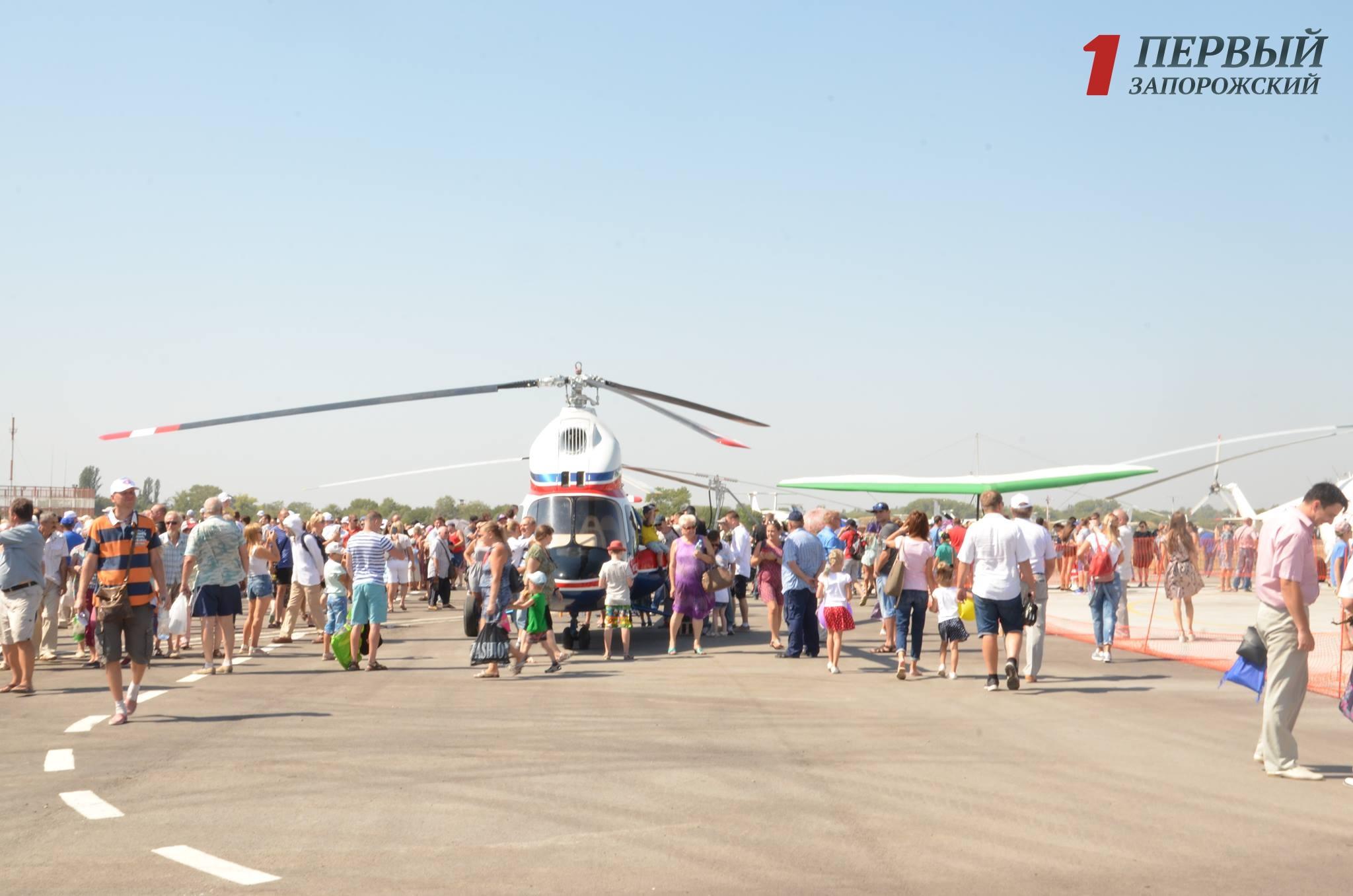«Мотор Сич» представила 1-ый  украинский вертолет «Надежда»
