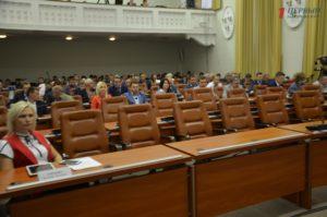 На сессию запорожского городского совета приехали представители ОБСЕ