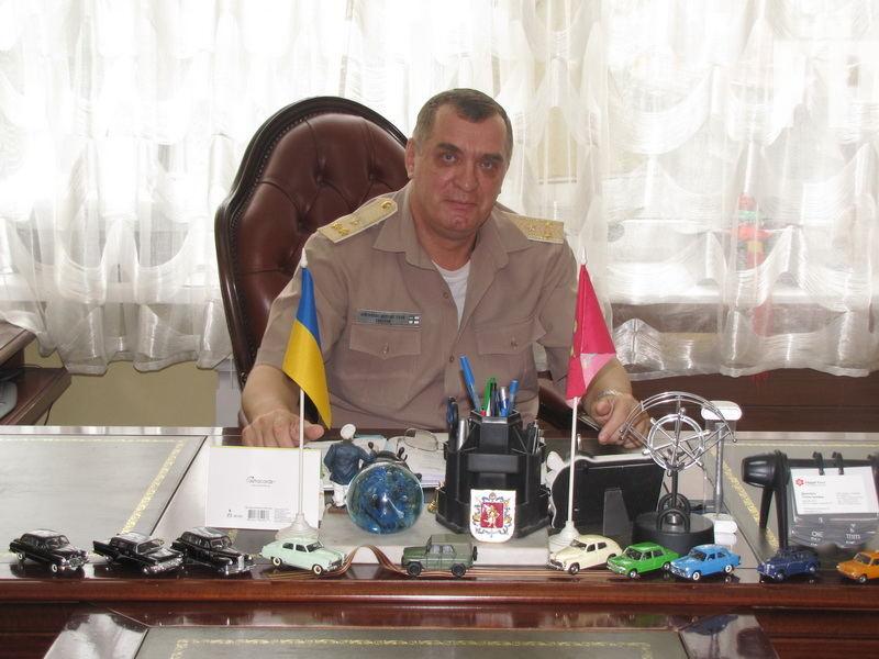 Игорь Павлей, председатель Запорожской областной организации ОСО Украины