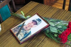 В Запорожской области погибший боец АТО посмертно получил от президента орден «За мужество» - ФОТО