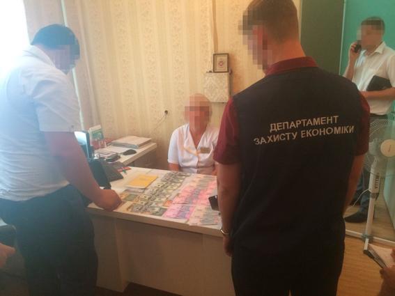 ВЗапорожье заведующая клиники  требовала взятку заоформление инвалидности,