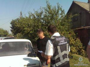 В Запорожской области при задержании чиновник-взяточник сбил СБУшника