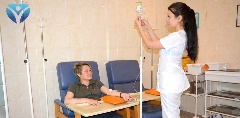 В Запорожской облбольнице пациентам-аллергикам помогают забыть о пыльцевой аллергии