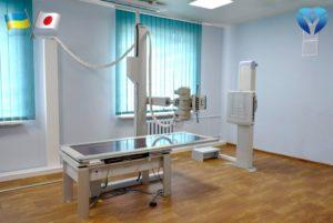 Правительство Японии установило в Запорожской облбольнице новейший рентген-аппарат