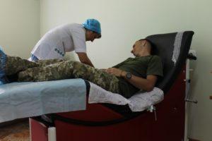 Пограничники Бердянского отряда сдали кровь для бойцов АТО - ФОТО