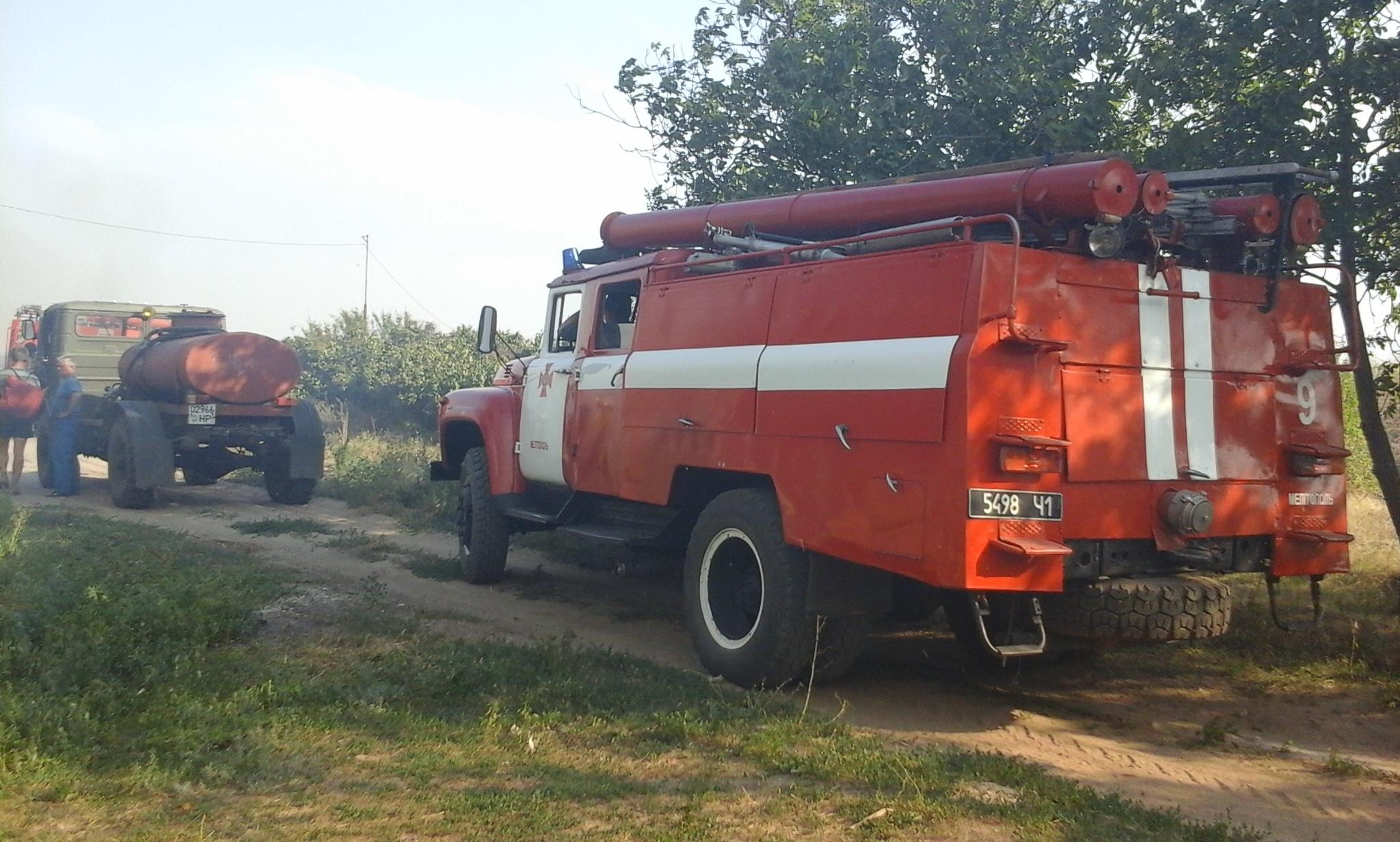 Сгорящей базы отдыха эвакуировали 30 человек— Запорожская область