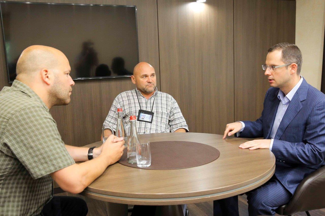 Ростислав Шурма обговорил с представителями ОБСЕ ситуацию в Запорожском регионе