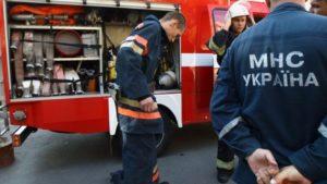 В Запорожской области 12 спасателей тушили дачный дом