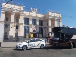 В Запорожье оштрафовали водителя автобуса, который нелегально осуществлял междугородние перевозки – ФОТО