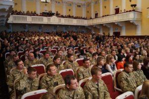 Из бюджета города выделят 100 тысяч гривен на телемарафон ко Дню защитника Украины