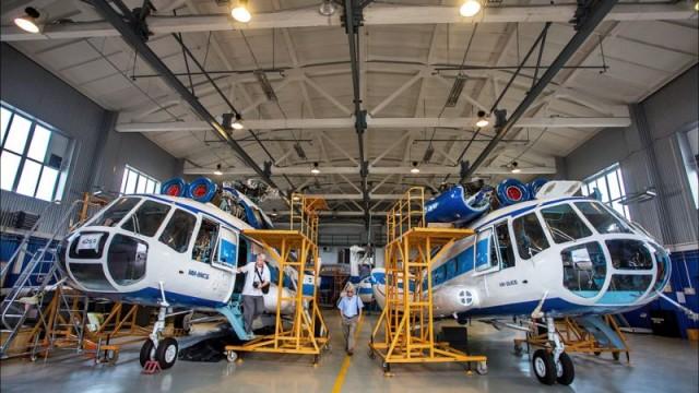 Запорожское предприятие будет производить собственные вертолеты