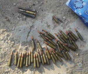 У двух жителей Запорожской области нашли гранату и десятки патронов - ФОТО