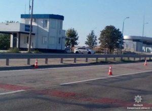 Появились подробности стрельбы по полицейскому посту на выезде из Запорожья - ФОТО