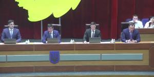 Депутаты собрались на пятнадцатую сессию Запорожского облсовета