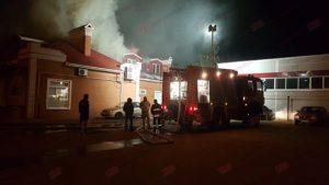 На запорожском курорте ночью произошел масштабный пожар - ФОТО, ВИДЕО