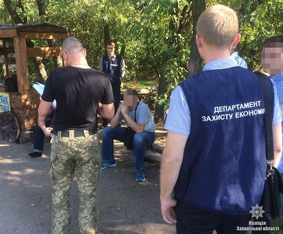 В Запорожье на взятке задержали чиновника Министерства культуры - ФОТО