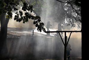 Спасатели рассказали подробности пожара в гаражном кооперативе в центре города - ФОТО, ВИДЕО