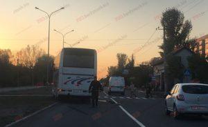 В Запорожской области киевский автобус сбил женщину: пострадавшая в больнице в тяжелом состоянии - ФОТО
