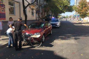 В Запорожской области сбили велосипедиста около детского центра – ФОТО