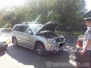 В Запорожье произошло тройное ДТП: есть пострадавшие - ФОТО